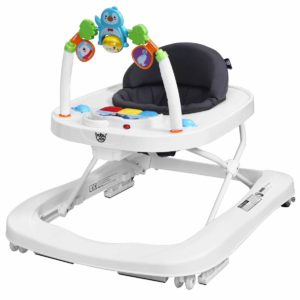 BABY JOY 2 in 1 Foldable Baby Walker
