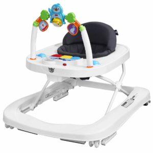 BABY JOY 2 in 1 Foldable Baby Walker
