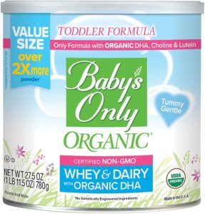 Baby's Only Organic USDA Certified