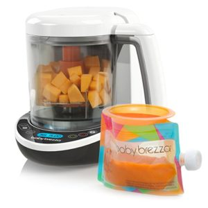 Baby Breeza Small Baby Food Maker Cooker & Blender