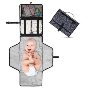 Crystal Baby Travel Baby Changing Pad Diaper Kit