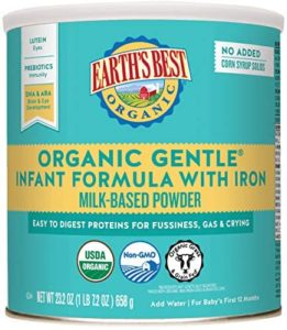 Earth's Best Organic Easy To Digest