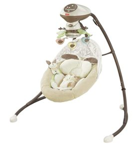 Fisher-Price One Size Cradle n Swing Little Snugabunny