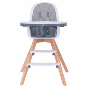 HM-TECH Wooden High Chair