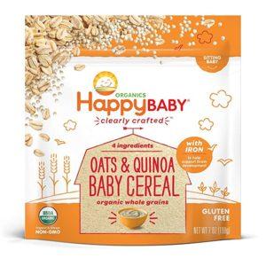 Happy Baby Oats & Quinoa Best Baby Cereal