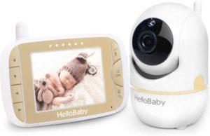 HelloBaby Pan-Tilt-Zoom Camera Baby Monitor