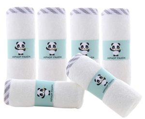 Hip-hop Panda Hypoallergenic Wash Cloths