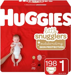 Huggies One Month Baby Size 1 Diaper Supply