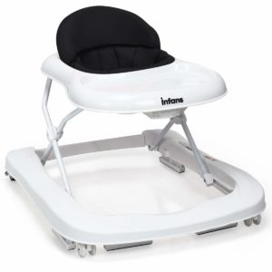 INFANS 2 in 1 Foldable Baby Walker