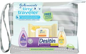 Johnson's Baby Tiny Traveller Baby Gift Kit