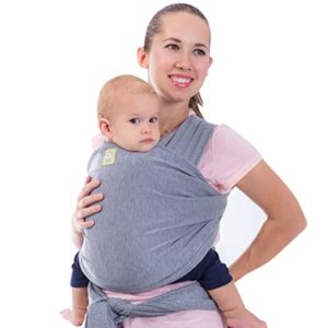 KeaBabies All-In-1 Stretch Baby Wrap Carrier