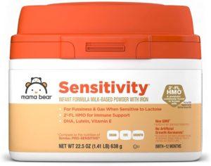 Mama Bear Sensitive Milk-Based Powder