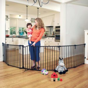 North States 3 in 1 Arched Baby Gate