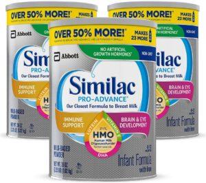 Similac Pro Advance Infant Formula