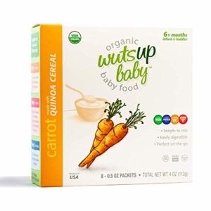 Wutsupbaby Quinoa and Carrot Baby Cereal