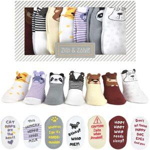 Ziri & Zane Baby Socks Gift Set