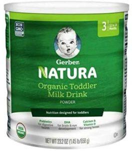 Gerber Natura Organic Toddler Formula