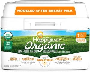 Happy Baby Organic Milk Based Infant Formula