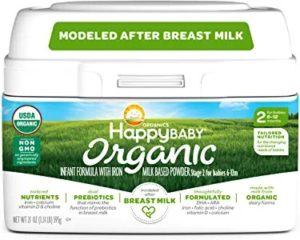 Happy Baby Organic Stage 2 Infant Formula