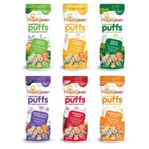 Happy Baby Organic Superfood Puffs Variety Packs