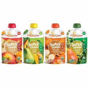 Happy Tot Organic Stage 4 Super Foods