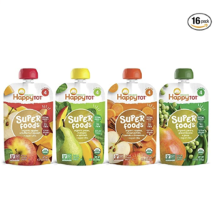Happy Tot Organic Stage 4 Variety Pack