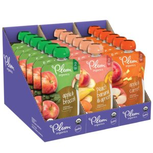 Plum Organics Stage 2 Fruit And Veggie Variety Pack Best Organic Baby Food