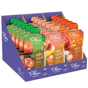 Plum Organics Stage 2 Fruit And Veggie Variety Pack Best Organic Baby Food