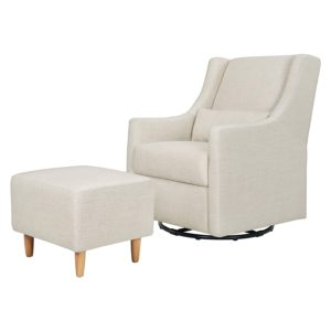 Babyletto Toco Upholstered Swivel Glider