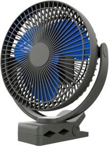 Koonie 8-Inch Portable Desk Fan