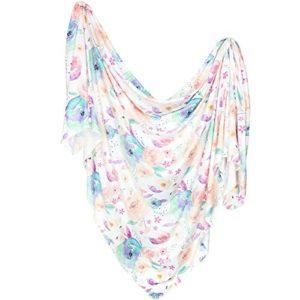 Large Premium Knit Baby Swaddle